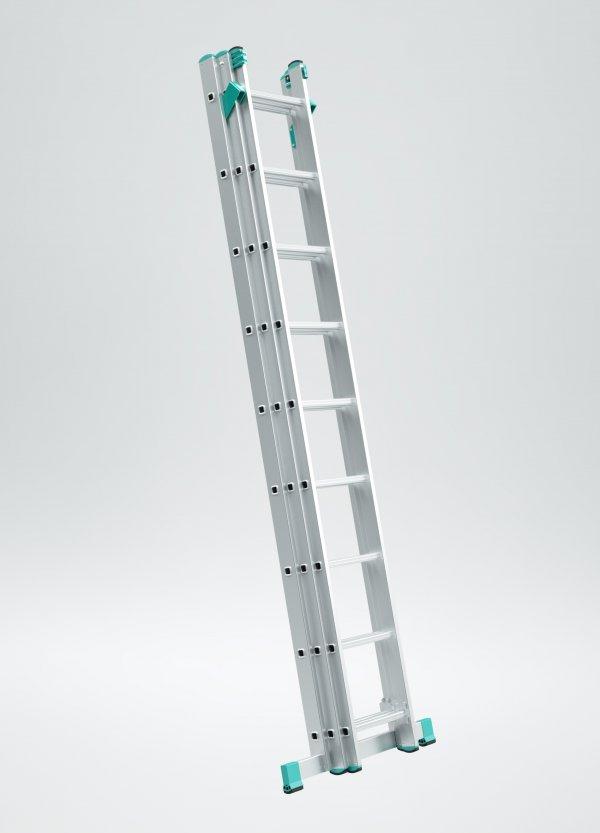 Drabiny 3-częściowe uniwersalne na schody ITOSS